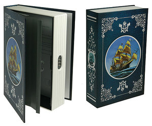 """Книга-сейф """"Морские приключения""""  (184404)"""