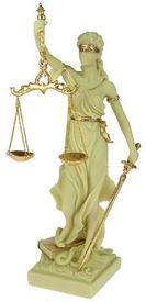 """Статуэтка """"Греческая богиня правосудия-Фемида (127644)"""