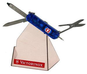Нож-брелок Victorinox SIGNATURE LITE 58мм полупр. Синий (0.6226.T2)