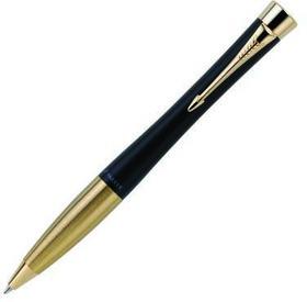 "Ручка шариковая ""Parker Urban Muted Black GT"" M, синий стержень (S0767040)"