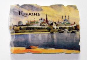 """Магнит """"Казанский Кремль"""" (акварель (МП-09К)"""