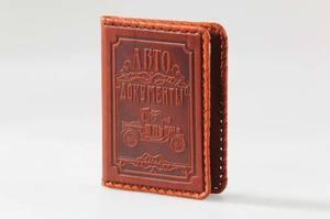 Обложка для водительского удостоверения  (003-07-01М)