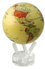 Глобус МОБИЛЕ с политической картой мир (MG-45-ATE)