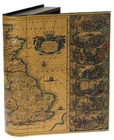 "Шкатулка-фолиант ""Карта сокровищ""   (184062)"
